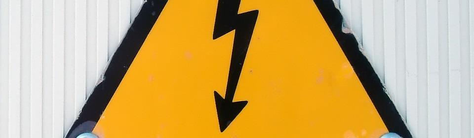 teken stroomstoring